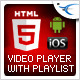 HTML5 Video Player with Playlist & Multiple Skins